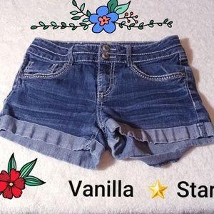 Vanilla Star Bottoms - Vanilla 🌟 Star Jean's Short Size 14